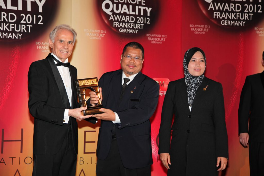 International Arch of Europe Award for Quality System (Gold Category) by BID, Frankfurt, Germany.