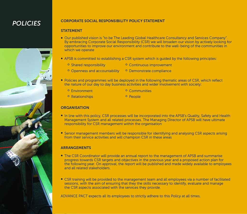 corporate social responsibility policy pdf